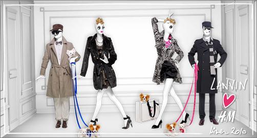 Lanvin Mens coat and womens shoes